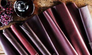 Wineleather, la prima pelle100% vegetale, creata dal vino e made in Italy