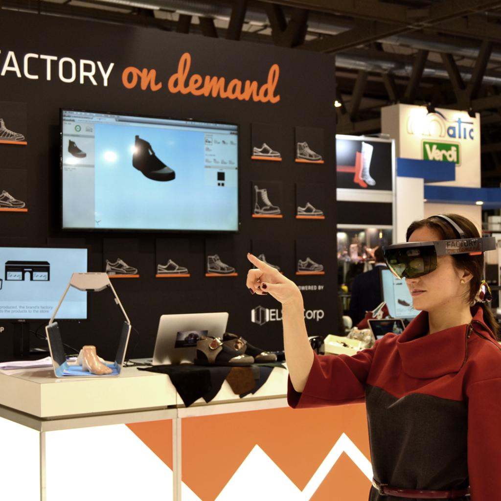 Esperienza di shopping futuristica
