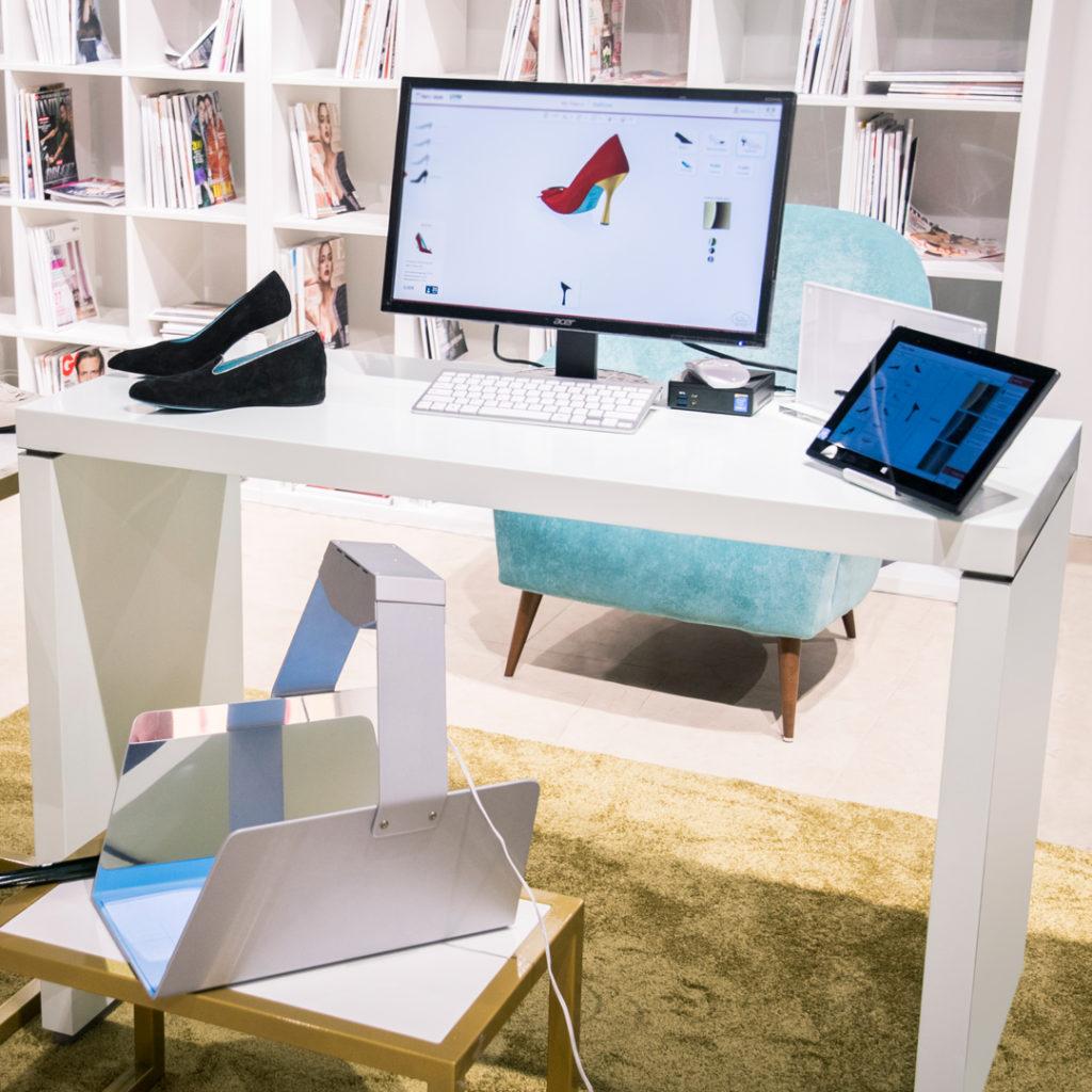 Un esempio di allestimento di un Virtual Corner