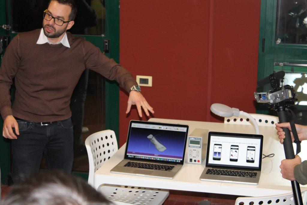 Piero Donaggio, responsabile dell'unità di Ricerca e Sviluppo di Trya