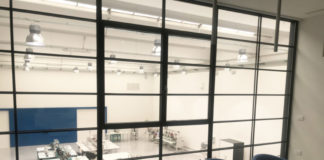 Uno scorcio del nuovo showroom Studio Auriga